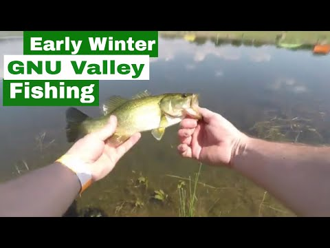 Bass Fishing At GNU Valley