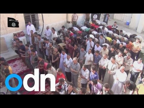 Iraq: Islamic State video shows the conversion of Yazidis to Islam