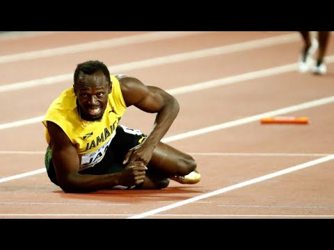 Usain Bolts Last Race 4x100 Relay World Championships 2017