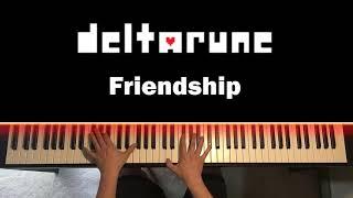 DELTARUNE (Undertale 2) - Friendship (Piano Cover)