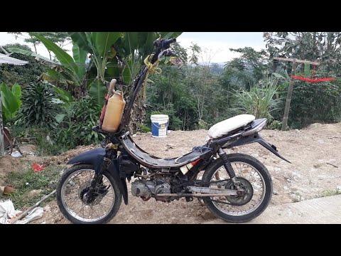 90 Foto Modifikasi Motor Ojek Sawit Paling Keren