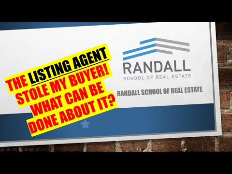 the-listing-agent-stole-my-buyer!-what-can-i-do?