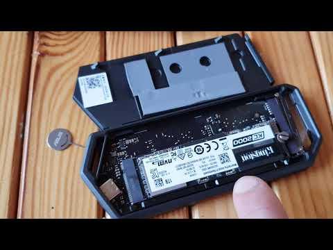 Зовнішня кишеня Asus ROG Strix Arion для M.2 SSD NVMe (PCIe) — USB 3.2 Type-C (ESD-S1C/BLK/G/AS)