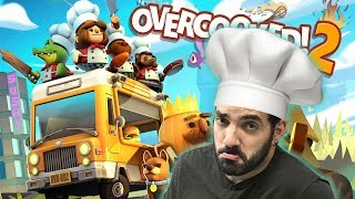 APRENDIENDO A COCINAR ⭐️ Overcooked! 2 | iTownGamePlay