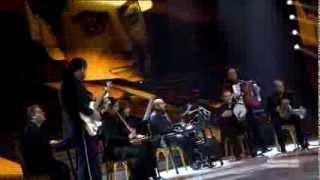 لوحة تكريمية للموسيقار فريد الأطرش - البرايم العاشر من ستار اكاديمي 9