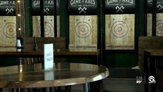 Boynton Beach axe throwing bar fights closure by code enforcement