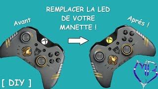 REMPLACER LA LED D'UNE MANETTE XBOX ONE  - Pr Micka