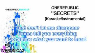 OneRepublic - Secrets [Instrumental]