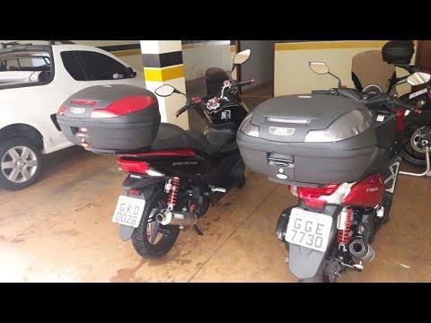 Honda Pcx 150 >> HONDA PCX 150, USO DE BAÚ/BAULETO EM MOTOS PARTICULARES ...