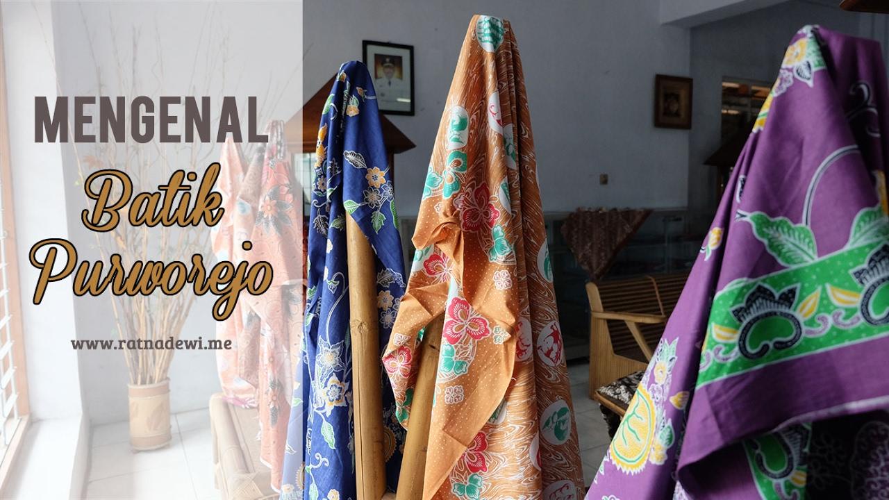 Batik Purworejo Siap Bersaing Di Tingkat Nasional Maupun