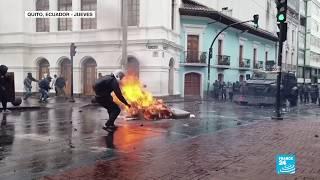 Aumenta la tensión en Ecuador: continúan las protestas contra nuevas medidas económicas