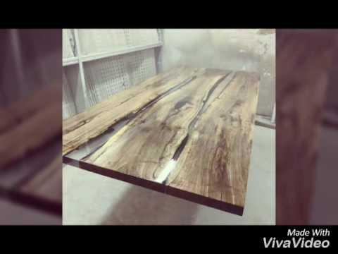 Resina epossidica e legno  YouTube