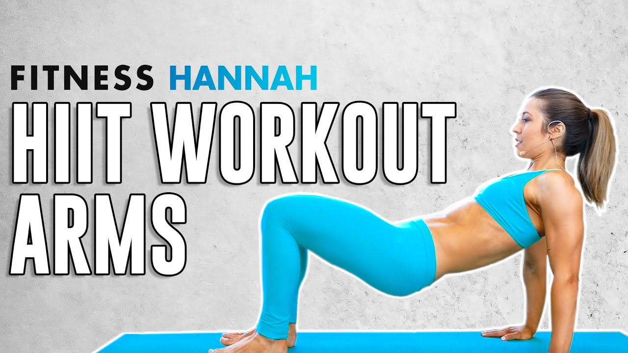 Toned Arms & Sculpted Abs in Just 10 Minutes ♥ HIIT with Hannah Workout, No Equipment Fitness
