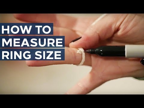 How To Measure Ring Size | Sears Knowledge Center