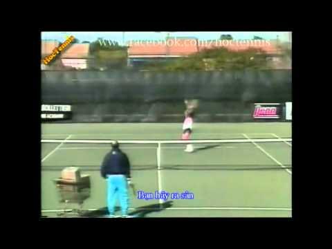 Học tennis - Smash (Đập bóng tennis) - Hoctennis.net - 0963.221.048