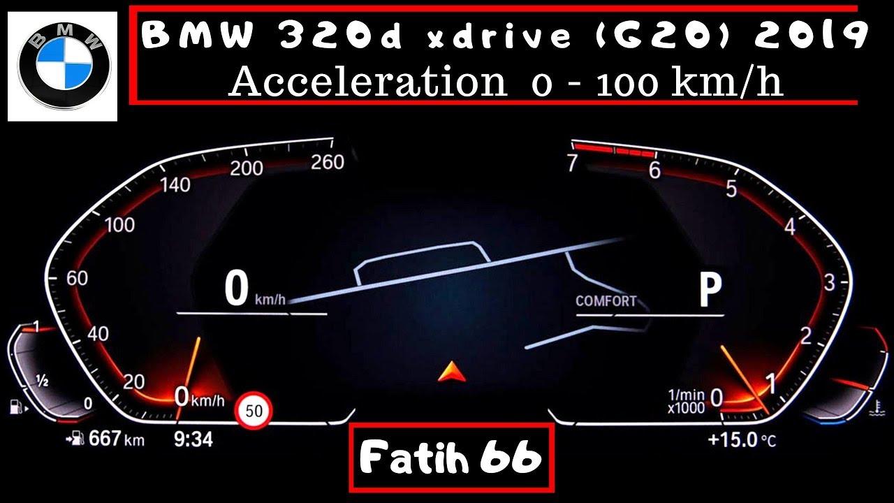 BMW 320d 0-100km||自動車試乗自動車0-100km動画 - 自動車の試乗