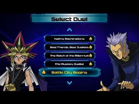 Guy plays a full game of Yu-Gi-Oh. (41 seconds)
