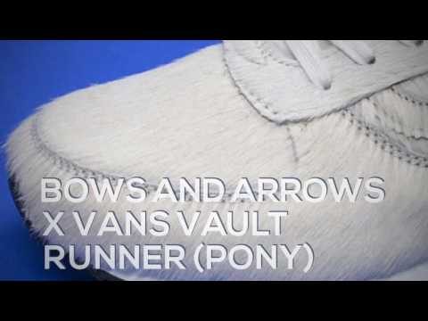 BOWS AND ARROWS X VANS VAULT RUNNER (PONY) / PEACE X9