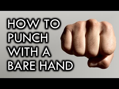 How to Punch with a Bare Hand for Self-Defense