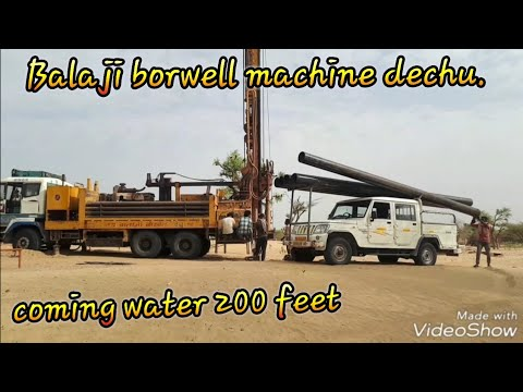 1000 feet borwill drilling point/200 feet coming water.  step by step borwill  drilling.