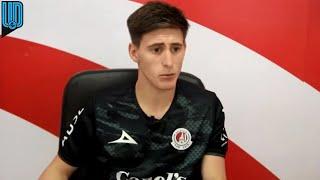 Facundo Waller jugador del Atlético de San Luis aceptó que la última derrota le dolió a todo el equipo