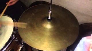 """""""SOLD""""  """"Vintage"""" """"Pasha"""" 14"""" Hi hat cymbals"""