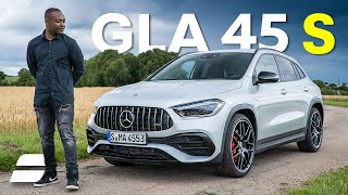 NEW Mercedes GLA 45 S Review: An A45 for ADULTS? | 4K