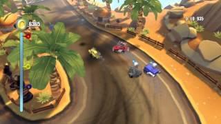 [eShop EU] TNT Racers: Nitro Machines Edition - First Look