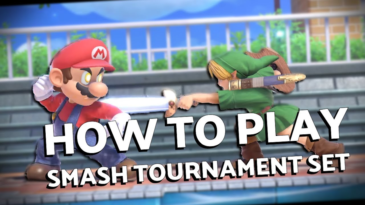 How to Play a Smash Bros Ultimate Tournament Set