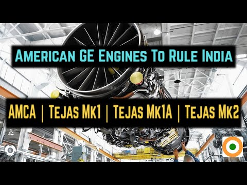 American GE Engines To Rule India | AMCA | Tejas Mk1 | Tejas Mk1A | Tejas Mk2