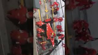 Ferrari mechanic gets injured at Bahrain Grand Prix F1 2018