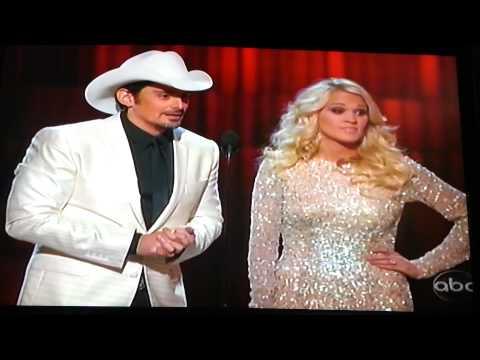 Brad & Carrie Underwood 2012 CMAs gangnam style!