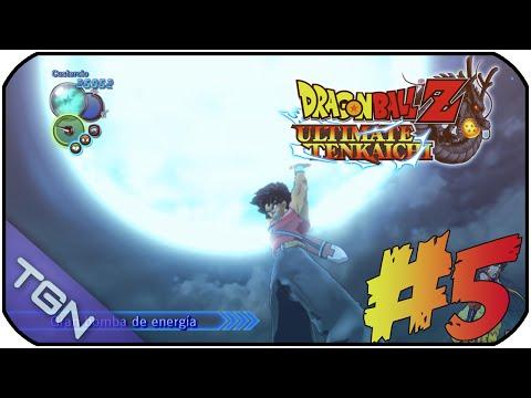 DRAGON BALL Z : ULTIMATE TENKAICHI   MODO HÉROE   SOY UN DIOS !   #5   CUSTEM