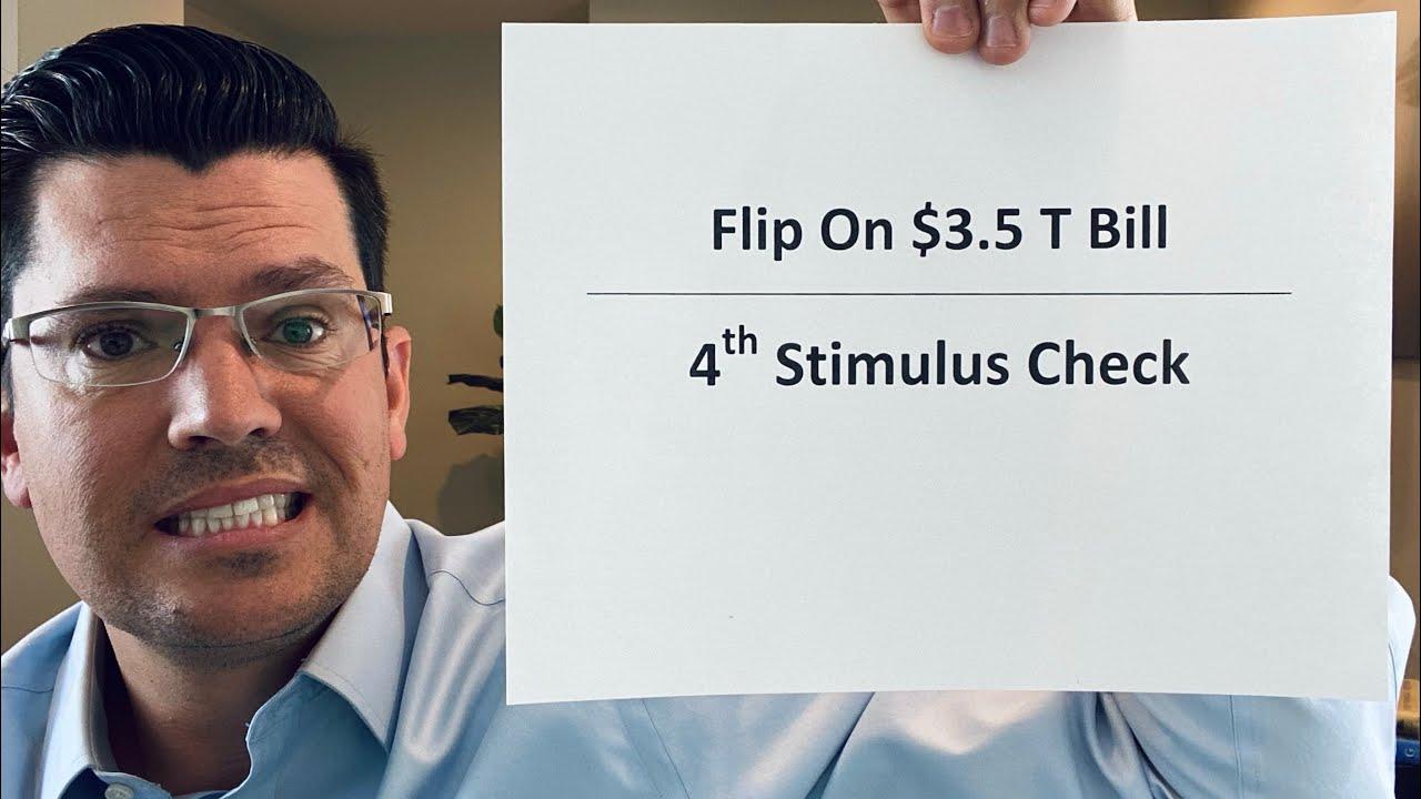 Senator Flip On $3.5 T Bill   4th Stimulus Check Update   Rand Paul & Dr. Fauci Ugly Fight