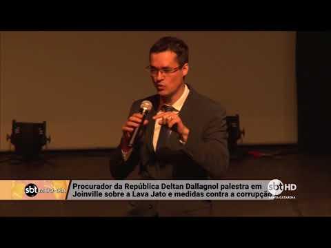 Procurador da República Deltan Dallagnol palestra em Joinville sobre a Lava Jato