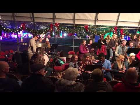 Cashton High School Concert Band, Rotary Lights, Nov. 28, 2017 - Ding Dong Merrily on High
