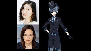 Anime Voice Comparison- Ciel Phantomhive (Black Butler)