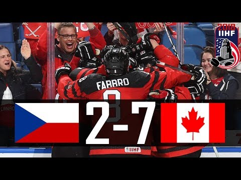 Canada vs Czech Republic | 2018 WJC Highlights | Jan. 4, 2018