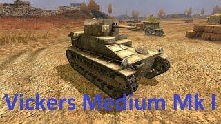 танки Великобритании. Vickers Medium MkI(Этот танк вместе с бесплатным слотом вы обнаружите в своём Ангаре, когда выйдет обновление 1.5. Medium I — единст..., 2016-08-12T12:21:54.000Z)