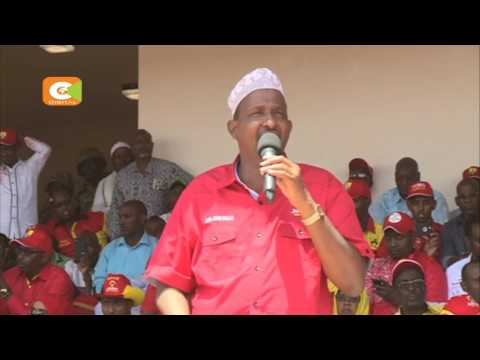 DP Ruto takes Jubilee campaigns to Mandera County