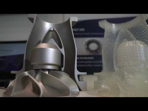 IMTS day 2: 3D Printed Casting Patterns for Aerospace at Vaupell and 3D Systems