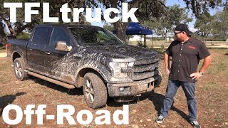 2015 Ford F-150 FX4 Wet  Rocky Off-Road First Drive Review First Mud