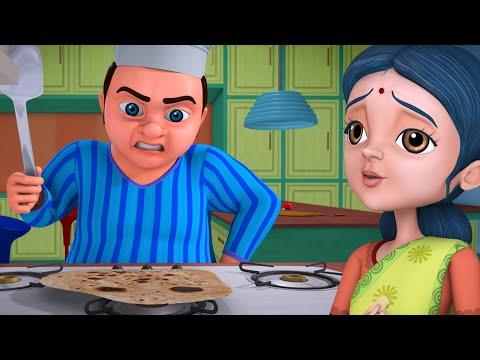 Download Lalaji Aur Rotiyaan - Lalaji's Rasoi Ghar | Hindi Rhymes for Children | Infobells
