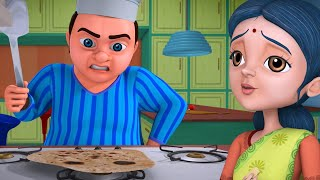 Lalaji Aur Rotiyaan - Lalaji's Rasoi Ghar | Hindi Rhymes for Children | Infobells