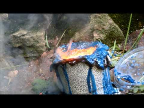 Copper thermite and ammonium nitrate