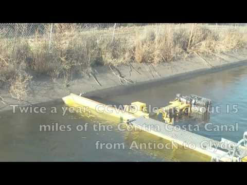 The Contra Costa Water District's Canal Cleaning Sled