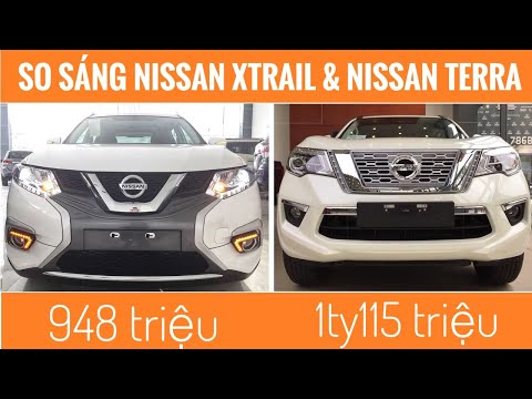 Compare Nissan Terra 2019 and Nissan Xtrail 2019