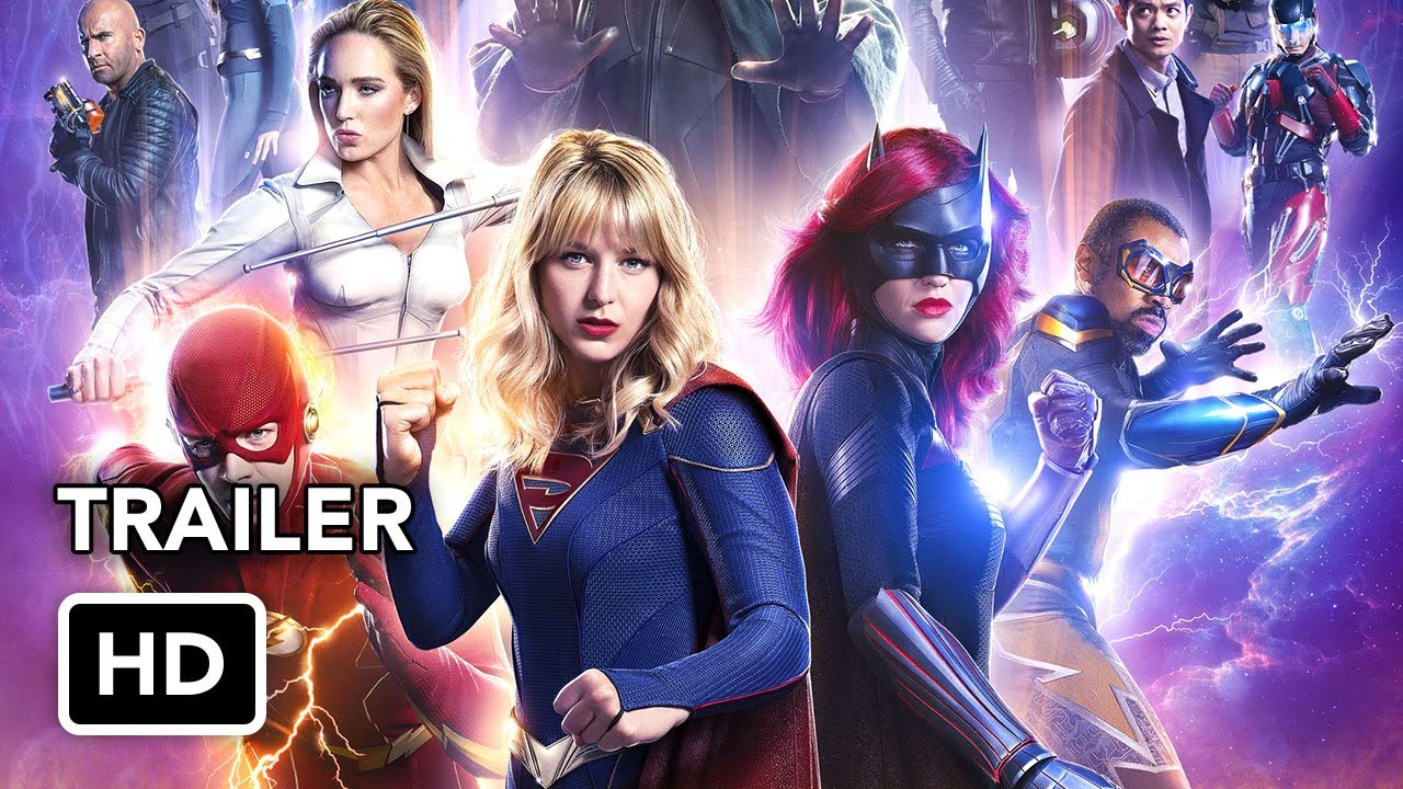 Film CRISIS ON INFINITE EARTHS (2020) - The Flash, Arrow, Supergirl, Batwoman