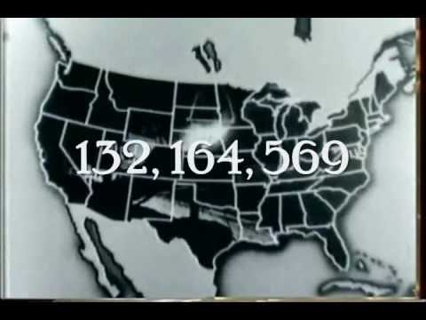 1940 Census:  Demography On The March.  Period parody