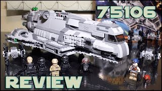 LEGO Star Wars 75106 Imperial Assault Carrier Review